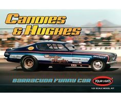 Vintage Candies and Hughes Barracuda Funny Car | Polar Lights | Round ...