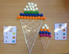 Ijsjes Fractions, Infancy, Numeracy, Montessori, Summer Time, Kindergarten, Preschool, Games, Creative