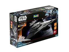Star Wars Rogue One Build & Play Imperial Destroyer Model Kit Kids Xmas Gift