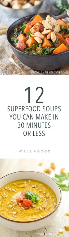 12 quick, superfood soups to make this summer in under 30 minutes
