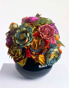 See the World Through Pattern and Colour, notablegem: yinka shonibare - culture flower -...