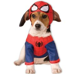 Pet Marvel Spider-Man Costume, Multicolor