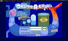 Jeu ludo-éducatif dont l'objectif est d'aider les élèves à maitriser certaines règles de base de grammaire.