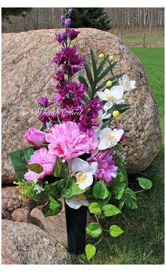 Funeral Floral Arrangements, Spring Flower Arrangements, Artificial Floral Arrangements, Vase Arrangements, Artificial Flowers, Grave Flowers, Altar Flowers, Cemetery Flowers, Funeral Flowers