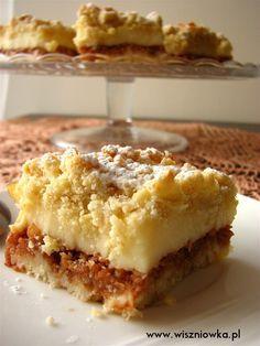 Polish Desserts, Polish Recipes, Ukrainian Desserts, Sweet Bakery, Coconut Cookies, Christmas Appetizers, No Bake Cake, Sweet Recipes, Delish