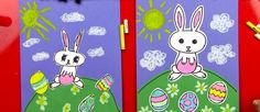 How to draw a cartoon Easter bunny... from Art For Kids Hub