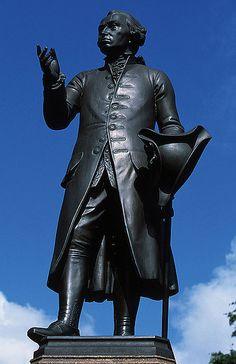 Immanuel Kant monument in Königsberg