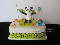 bolo panda e os caricas - Pesquisa Google