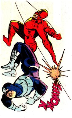 Daredevil vs. Bullseye — Daredevil #181 (April 1982), art by Frank Miller & Klaus Janson