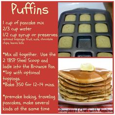 Use the brownie pan from The Pampered Chef!