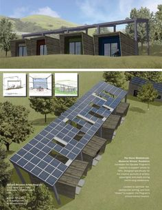 Agricultural Buildings, Solar Panels, Cabins, Writers, Presentation, Architecture, Outdoor Decor, Home Decor, Sun Panels
