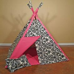 glamour girl teepee. perfect hideout for a little diva.