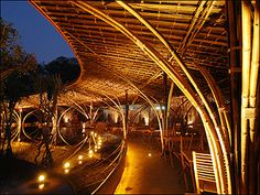 bamboo structures - Google Search