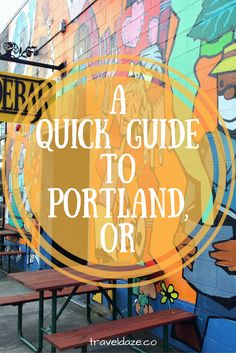 A Quick Guide to Portland, Oregon - Travel Daze Visit Portland, Visit Oregon, Portland Oregon, Oregon Washington, State Of Oregon, Oregon Coast, Oregon Usa, Solo Travel, Travel Usa