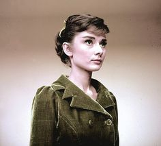 Audrey Hepburn photographed by Milton Greene on the set of War and Peace, 1956