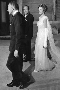Gianni and Marella Agnelli at Truman Capote's Black & White Ball