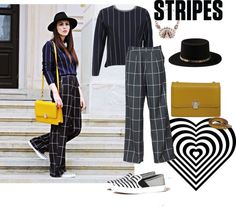 #RenaBags on www.rena.ro Head To Toe, Fashion Inspiration, Stripes, Polyvore, Shopping, Image, Reindeer