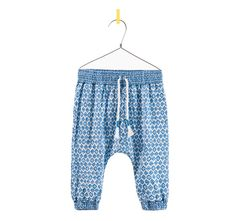 Printed Harem Pants by Zara Baby Harem Pants, Baby Girl Pants, Little Fashion, Girl Fashion, Emo Fashion, Hareem Pants, Cool Kids Clothes, Baby Couture, Zara Kids