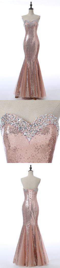 Long Prom Dresses, Sleeveless Prom Dresses, Mermaid Party Prom Dresses, Sequin Prom Dresses, Rhinestone Prom Dresses, Sexy Prom Dresses Online, LB0312