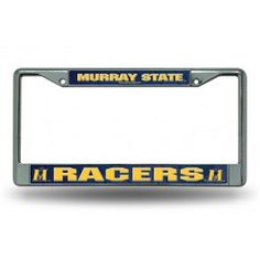 Murray State Racers Chrome License Plate Frames