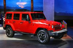 * 2015- Jeep Wrangler Unlimited *