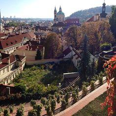Prague Castle Garden under Golden Well Hotel, Prague Beautiful Places In The World, Most Beautiful Cities, Prague Hotels, Prague Czech Republic, Prague Castle, Best Location, Wanderlust Travel, Homeland, Vacation Ideas