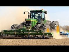 John Deere 7710 | Seedbed Preparation | Pure Sound | Franquet / Lemken K...