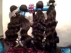 Hair Bundles of Various wave Patterns. Can be dyed. My Suppliers Site: http://RemyDivaQueen.houseofbeautifulhair.com