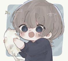 Chibi Boy, Cute Anime Chibi, Cute Anime Pics, Cute Anime Boy, Anime Kawaii, Kawaii Art, Anime Guys, Anime Character Drawing, Cute Anime Character