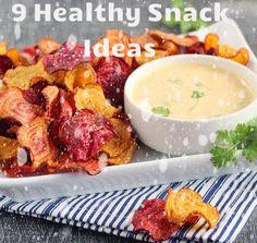 9 Healthy Snack Ideas