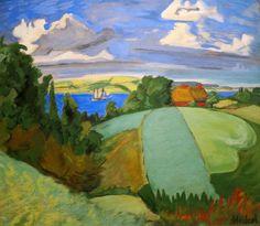 Gabriele Munter. Landschaft