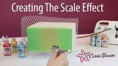 Creating a Scale Effect - A tutorial with Cassie Brown