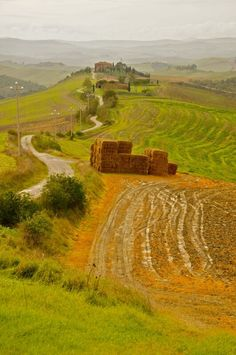 #Tuscany Siena und Crete Senese, Italien