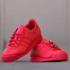 adidas samoa all red