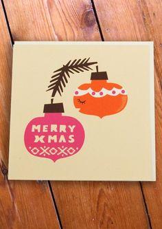 1960's Merry Xmas card