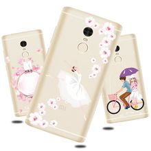 For xiaomi Redmi Note 4 Case Silicon Transparent clear Back Cover Case For xiaomi Redmi Note 4 Case and Cover.(China (Mainland))