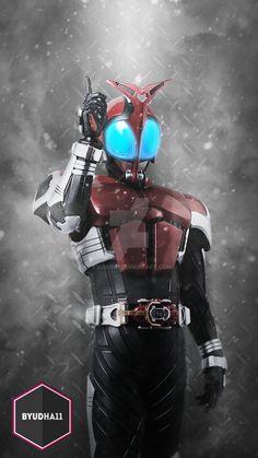 Kamen Rider Kabuto With Blizzard Action Edit: Photoshop Facebook: Bagus yudha