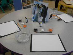Penguin Still Life Art provocation