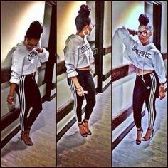 pants black white adidas leggings clothing