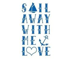 not for the soul. but I love anchors and the words Come Sail away with me The Words, Saved By Grace, Sail Away, Am Meer, All You Need Is Love, Inspire Me, Decir No, Quotes To Live By, Favorite Quotes