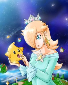 Rosalina by Linker96.deviantart.com on @deviantART