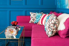 How to boldly pair colour like a pro—Colour defines a room, but choosing combinations that work together can be tricky. Whether you prefer a bold, dark or light palette, these spaces will inspire you to pair colours with confidence.