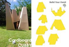 petit à petit and family: The Cardboard Cubby... SUPER COLLOSAL