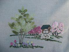 Hayfield Cottage: bordado