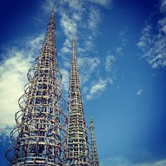 Watts Towers of Simon Rodia State Historic Park in Los Angeles, CA - http://www.wattstowers.us/