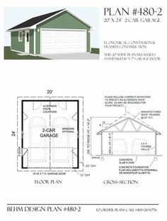 1000 images about garage plans by behm design pdf plans for 20 x 24 garage plans