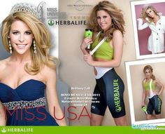 Even Miss USA does Herbalife! Herbalife! Good Health = Inner & Outer Beauty!