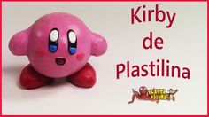 Como hacer a Kirby de Plastilina/Porcelana Fria/How To Make Kirby with P...