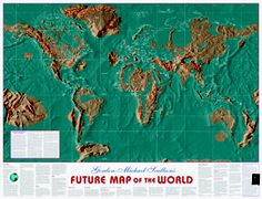 Pole Shift World Map.Maps Of America After Pole Shift Floods Stuff They Don T Want You
