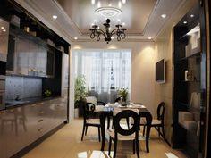 Стиль арт-деко довольно часто используется в оформлении кухонных помещений. Чтобы ощутить всю роскошь стиля арт-деко, кухня должна располагать большим пространством. В отделке таких кухонь преобладают натуральные и дорогие материалы. В цветовой гамме используются пастельные тона, а также золото и серебро. Роскошная и необычная мебель, хорошее освещение, изысканный текстиль - основные черты стиля арт-деко. Кухни, оформленные в этом стиле, придадут помещению особый шарм и атмосферу…